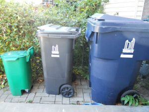 Toronto Recycling, Garbage, and Composting Bins