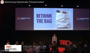 Rethink The Bag - Hayley Mclellan TED Talk on Plastic