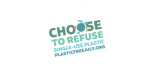 Plastic-Free July logo